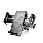OUMILY Motorcycle Bicycle Adjustable Holder for Mobile Phone / GPS - Black