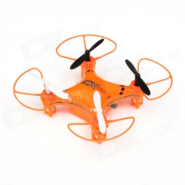 CX CX-023 360 Degree Eversion Mini 4-CH 2.4GHz Radio Control R/C Quadcopter w/ Gyro - Orange