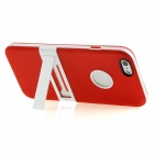"Hat-Prince Protective TPU Back Case w/ Stand for IPHONE 6 4.7"" - Red"