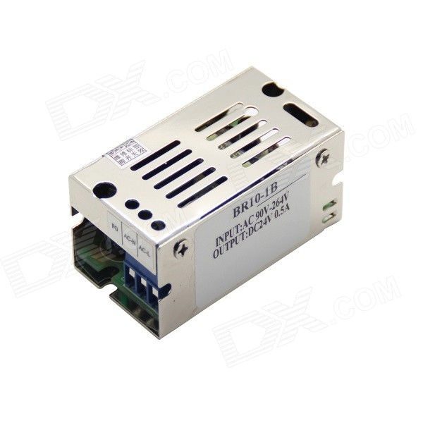 BR10-1B Voltage Regulator Power Supply w/ Metal Shell - Silver