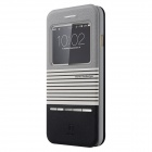 "Baseus LTAPIPH6-ED1G Protective PU + PC Case w/ Stand for IPHONE 6 4.7"" - Black + Grey"