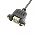 CY U2-261 USB 2.0 B Type Male to Female Extension Spring Cable for Printer / Scanner / Hard Disk