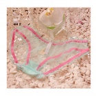 Women's Sexy Fashion Lace + Gauze Underwear - Mint Green