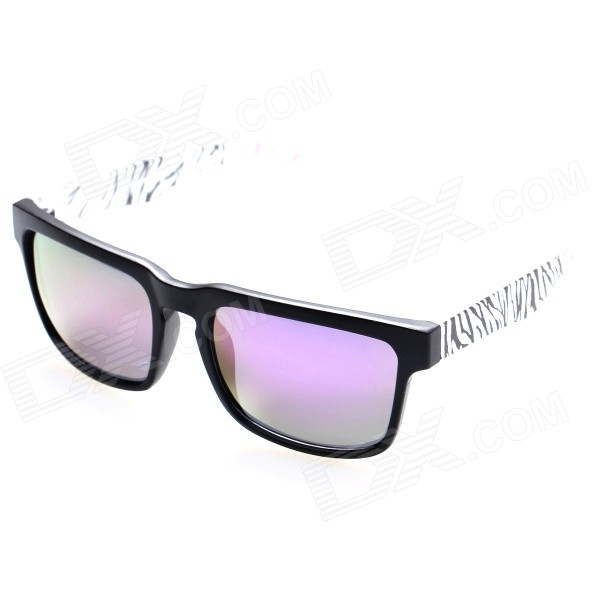 OREKA Fashion TR90 Frame Resin Lens UV400 Protection Sunglasses - Black + Purple наушники dialog ep f15 черный