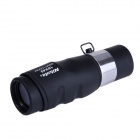 Nikula 16x40 HD High-powered Monocular Telescope - Black + Silver