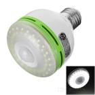 E27 3W 48-LED Infrared Sensor Motion Activated White Lamp (220V)