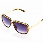OREKA Women's Fashion PC Lens UV400 Protection Sunglasses - Tortie + Golden + Grey
