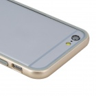 "ROCK Ultra-Thin Protective TPU + PC Bumper Frame for IPHONE 6 4.7"" - Champagne + Transparent"