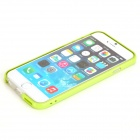 "ROCK Ultra-Thin Protective TPU + PC Bumper Frame for IPHONE 6 4.7"" - Grass Green + Transparent"
