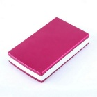 "Solar Powered ""30000mAh"" Li-polymer Battery Power Bank - Red + White"