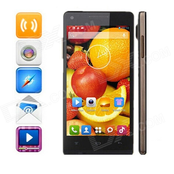 "Kingsing K3 Dual-Core Android 4.2 WCDMA Phone w / 4.7 ""QHD IPS, 4 Go de ROM, GPS - Noir"