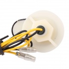 MZ 0.5W 100lm 12-LED Light Yellow Motorcycle Lámparas de Dirección para YAMAHA (12 V / 2 PCS)
