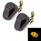 MZ 0.5W 120lm 15-LED Yellow Light Motorcycle Steering Lamp for Kawasaki (12V / 2 PCS)
