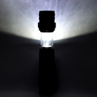 Pange 700lm 3-Mode Rotate Zoomable Cold White LED Flashlight - Black (1 x 18650)