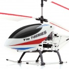 MJX T10 Shock-resistant Rechargeable 3-CH 2.4GHz 61cm R/C Helicopter w/ Gyro - White