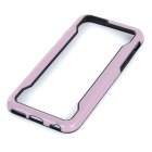 "Protective TPU Bumper Case Quadro para o iPhone 6 4.7 ""- Light Pink + Black"