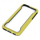 "Protective TPU Bumper Frame Case for IPHONE 6 4.7"" - Yellow + Black"