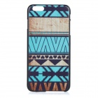 "National Style Protective Plastic Back Cover Case for IPHONE 6 PLUS 5.5"" - Black + Blue + Multicolor"