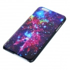 "Starry Sky Patterned Protective Plastic Back Case for IPHONE 6 PLUS 5.5"" - Black + Red + Multicolor"