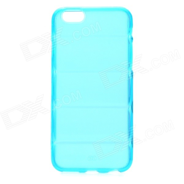 Protective Washable Soft TPU Back Case for IPHONE 6 4.7 - Translucent Blue чехлы для телефонов chocopony чехол для iphone 6plus птички невелички арт 6plus 134