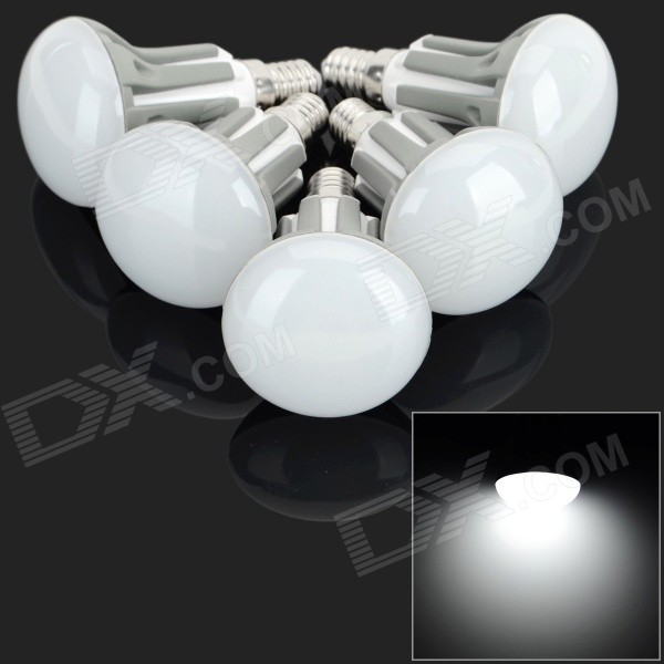 E14 3.5W 300lm 18-2835 SMD LED Cold White Lamps (220~240V / 5 PCS)
