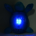 Sea Elf-Shaped 4-LED White Magical Underwater Light Effect Night Projection Lamp - Blue (3 x AA)