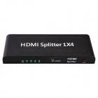 AOLUGUYA3D Full HD 1080P 1x4 HDMI Splitter Supporting CEC + Blue Ray (AU Plug)