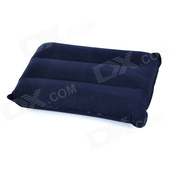 outdoor camping rectangle flocked air coussin gonflable coussin deep blue envoie gratuit. Black Bedroom Furniture Sets. Home Design Ideas