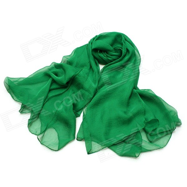 ZEA-PJ9-28-1 Women's Fashion Sandbeach Sun Block Scarve - Green