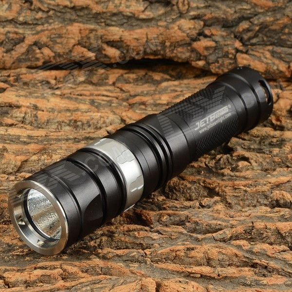 JETBeam RRT0 SE 730lm 3-Mode Cool White Dimming LED Flashlight - Black (1 x CR123A)