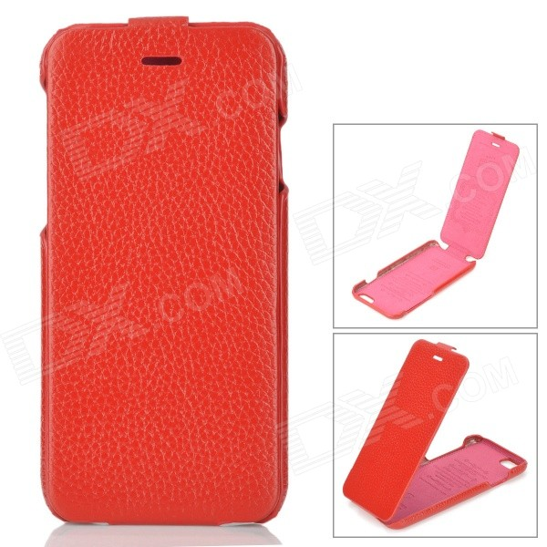 HOCO HS-L079 Fashion Protective Leather Up-Down Flip Open Case for IPHONE 6 4.7 - Red гарнитура a4tech hs 7p