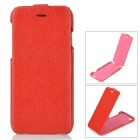 "HOCO HS-L079 Fashion Protective Leather Up-Down Flip Open Case for IPHONE 6 4.7"" - Red"