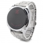 HZ HZ-2014 Lässige stainlesss Steel Band Digital LED Watch - Silber (1 x CR2032)