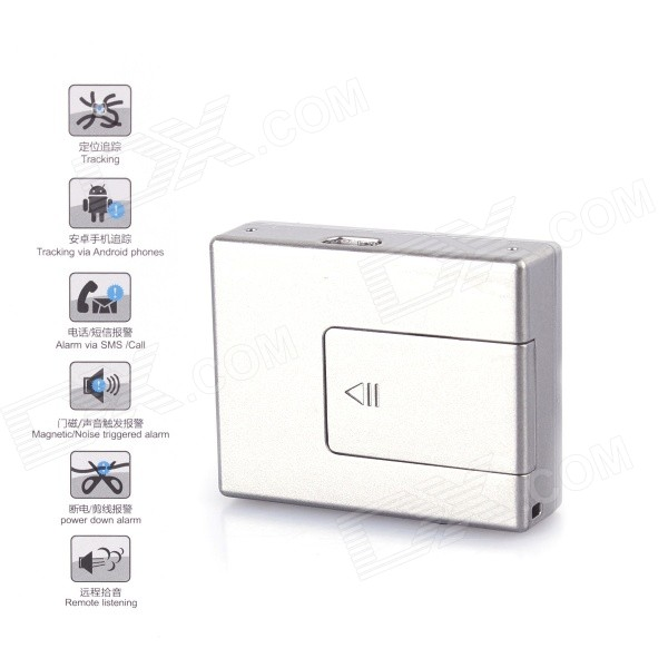V11 Mini Magnetic Door Security Positioning Communicator - Silvery Gray