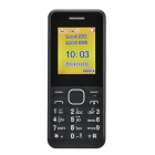 "1.77"" LCD Screen Dual-SIM Card Quad-band GSM Bar Phone w/ MP3 / FM - Black"