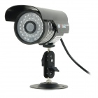 "YanSe YS-806CFB 1/3"" CMOS 900TVL Water-resistant Digital CCTV Camera w/ 36-IR-LED - Black (NTSC)"