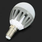 E14 3.5W 300lm 18-SMD 2835 LED Cold White Light Bulbs