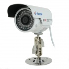 "YanSe YS-806CFW 1/3"" CMOS 900TVL Water-resistant Digital CCTV Camera w/ 36-IR-LED - White (NTSC)"