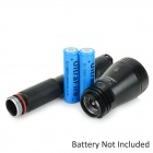 JETBeam BC40 SE 980lm 2-Mode Cool White LED Search Flashlight - Black (2 x 18650)