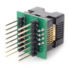 SOP16 to DIP16 150MIL Programming Board - Black + Green