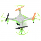 IA 8957 2.4GHz 4-CH R/C Quadcopter w/ 300KP Camera + 6-Axis Gyro - Silver + Green