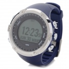 GD-003 Multi-Function Outdoor Digital Sport Watch w/ Pedometer / GPS / Compass / Backlight - Navy