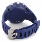 GD-003 Multi-Function Digital Sport Watch w/ GPS, Compass - Navy