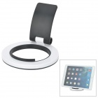 "270 Degree Rotational Desktop Mount Stand for IPHONE / IPAD / 7~9.7"" Tablet - White + Black"