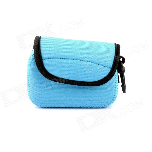 NEOPINE Protective Neoprene Camera Case Bag for Sony RX100 / RX100 MII - Blue free shipping new rx100 m1 motherboard dsc rx100m1 main board pcb for sony rx100 rx100 i mainboard camera repair part