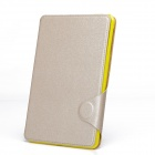 Protective PU Leather Smart Case w/ Stand / Card Slot for IPAD MINI 2 - Khaki