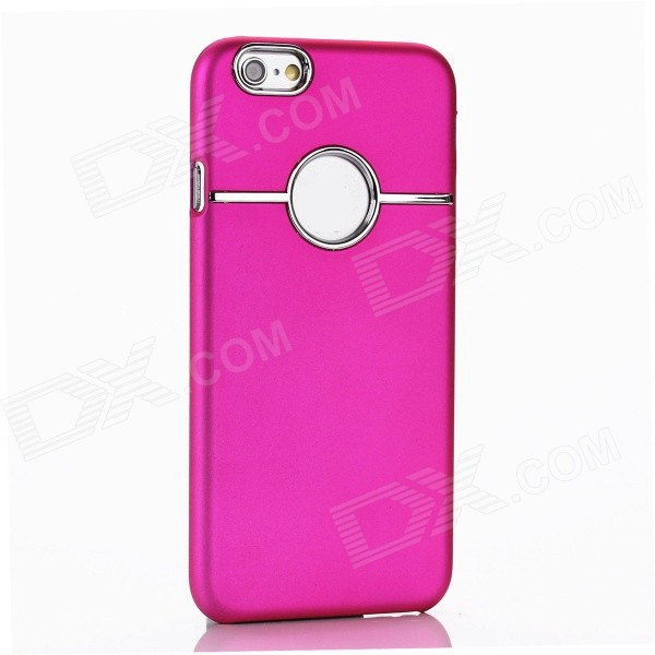 Scratch Resistant Hard Back Case for IPHONE 6 4.7 - Deep Pink - DXPlastic Cases<br>With plush lining to gently protect your device.<br>