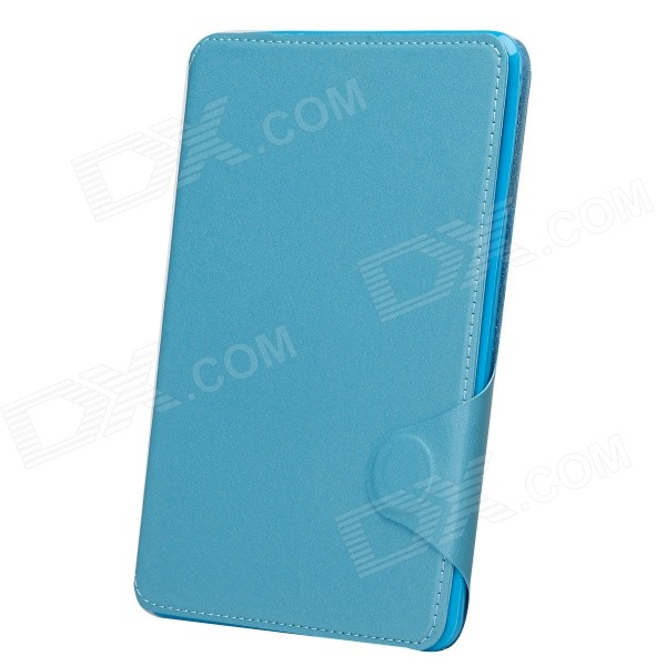 Protective PU Leather Smart Case w/ Stand / Card Slot for IPAD MINI 2 - Blue protective flip open pu case w card slot stand for ipad air 2 sky blue
