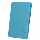 Protective PU Leather Smart Case w/ Stand / Card Slot for IPAD MINI 2 - Blue