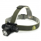 JETBeam HC20 800lm 5-Mode Cool White LED Head Lamp Flashlight - Black (1 x 18650)